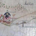 Parergon z prehľadnej banskej mapy Novej Bane z roku 1800