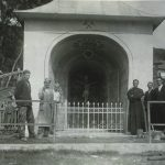 The miners' chapel in the 19th century