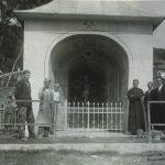 Banícka kaplnka v 19. storočí.