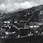 Vŕšky mining district at the beginning of the 20th century