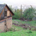 Pravdepodobné miesto ústia šachty Himmelreich (stav z 18.10.2001)