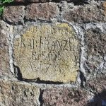 A foundation stone of the František Shaft from 1797