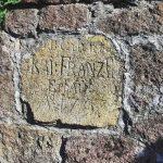 Základný kameň šachty František z roku 1797