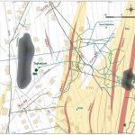 A map of mines in the northern part of Vŕšky (Svornosť, Trojkráľová and Maria Geburt) at large scale (1 : 2,000)