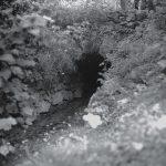 Vchod do štôlne  (stav z r. 1970)