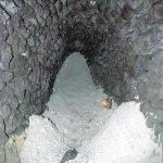 The cave-in near stope on the Vavrinec-Sauberer Vein (state by March 30, 2003)