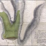 Map of the water storage reservoir and system of drainage ditches from the 19th century