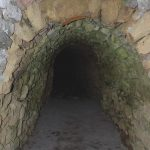 Stone reinforcement of the passageway