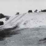 Nová Baňa, the heap at the Jozef Shaft. Photo  from 1950