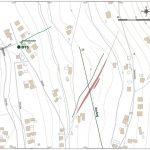 Mapka baní v oblasti Neufangu v podrobnej mierke (1:2 000)
