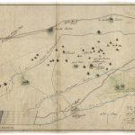 Mapa starých banských diel na žile Freischurf od F. Weissa (1816)